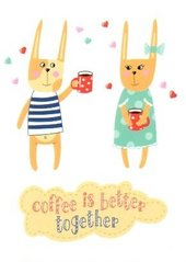 Coffee is better together