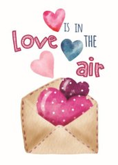 Is in love the air